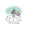 Cartoon: Ice Cream Challenge (small) by piro tagged ice,cream,challenge,bucket