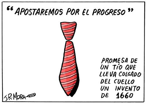 Cartoon: Corbatas (medium) by jrmora tagged politica,politicos,corbata,traje,polemica