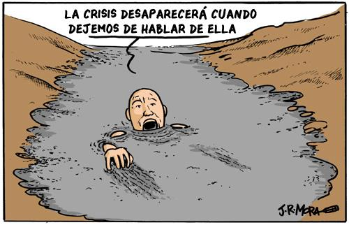 Cartoon: Crisis mundial (medium) by jrmora tagged crisis,recesion,depresion,economia,global,mundial,hipotecas,subprime,bancos,banca