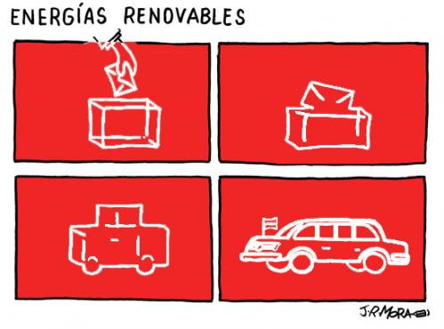 Cartoon: Energias renovables (medium) by jrmora tagged politica,voto,votacion
