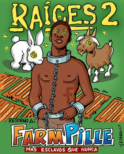 Cartoon: Farm Games (medium) by jrmora tagged farm,game