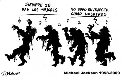 Cartoon: Michael Jackson 1958 - 2009 (medium) by jrmora tagged michael,jackson