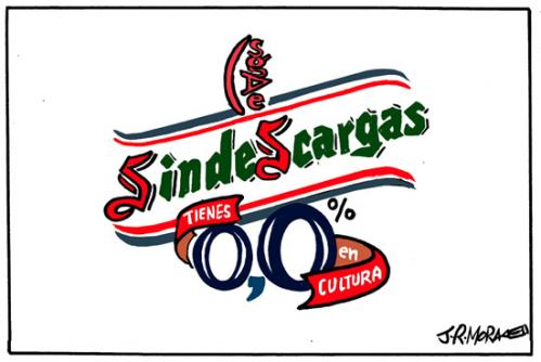 Cartoon: Ministra de cultura Spain (medium) by jrmora tagged cultura,p2p,descargas