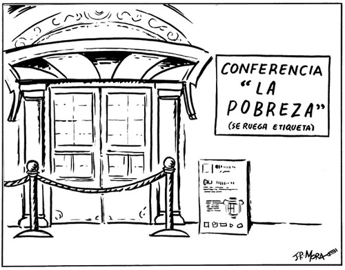 Cartoon: Pobreza (medium) by jrmora tagged pobreza