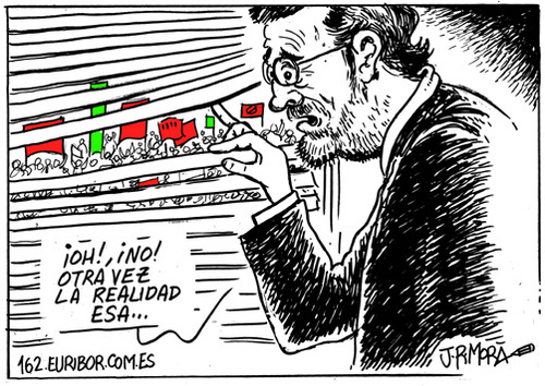 Cartoon: Realidad social (medium) by jrmora tagged spain,manifestaciones,15m,sindicatos,movimientos,sociales,participacion,ciudadana,politica