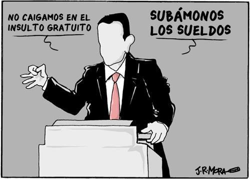 Los politicos uruguayos y sus sueldos.