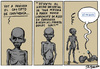 Cartoon: Convivencia (small) by jrmora tagged convivencia