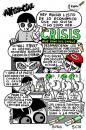 Cartoon: Crisis (small) by jrmora tagged crisis,precios,recesion,depresion,economia