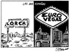 Cartoon: Eurovegas (small) by jrmora tagged eurovegas,casinos,dinero,juego,adelson,spain