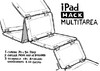 Cartoon: Ipad hack multitask (small) by jrmora tagged ipad,apple,mac,multitask