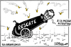 Cartoon: Rescate (small) by jrmora tagged rescate,spain,economia,crisis