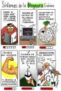 Cartoon: Sindrome de blogopatia cronica (small) by jrmora tagged blog,blogger,bitacoras,internet