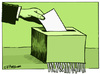 Cartoon: Voto (small) by jrmora tagged documentos,politica,corurpcion,democracia