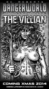 Cartoon: The Villian (small) by monsterzero tagged villian,comic,scifi