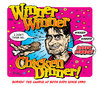 Cartoon: Winner Winner Chicken Dinner! (small) by monsterzero tagged charlie,sheen,winner,chicken