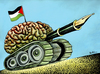 Cartoon: Palestine Think Tank (small) by BenHeine tagged palestine,think,tank,ben,heine,freedom,of,speech,battle,mind,middle,east,desertpeace,new,website,gilad,atzmon,haitham,sabbah,liberte,conquer,zionism,brain,cerveau,pen,bic,stylo,expression,drapeau,flag,occupation,land,territory,struggle