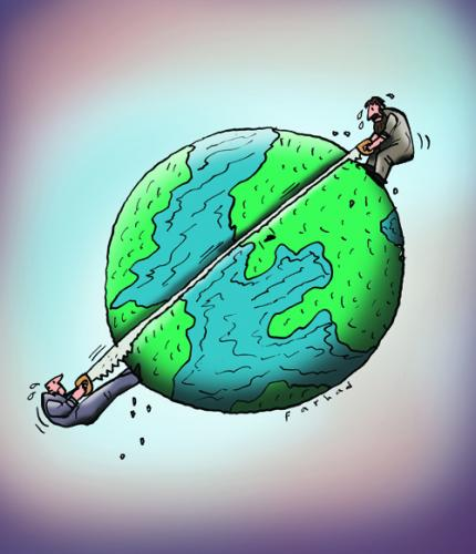 Cutting out the planet!