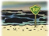 Cartoon: BP kills the see (small) by Farhad Foroutanian tagged oil