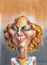 Cartoon: Madonna (small) by Fredy tagged madonna,pop,musi
