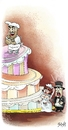 Cartoon: Cake (small) by bacsa tagged cake