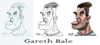 Cartoon: Gareth Bale (small) by bacsa tagged bale