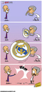 Cartoon: Real Madrid Balloon (small) by omomani tagged barcelona guardiola la liga mourinho portugal real madrid spain