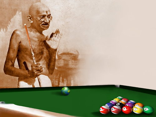 Cartoon: Ghandi (medium) by willemrasingart tagged personalitys,great