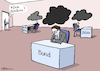 Cartoon: Dieselwolken (small) by Pfohlmann tagged dieselwolken