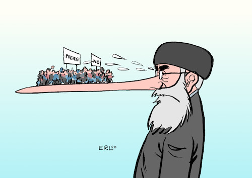 Cartoon: Iran (medium) by Erl tagged politik,iran,abschuss,passagierflugzeug,vertuschung,kehrtwende,offenlegung,lüge,regime,mullah,proteste,regimegegner,basis,nase,pinocchio,karikatur,erl,politik,iran,abschuss,passagierflugzeug,vertuschung,kehrtwende,offenlegung,lüge,regime,mullah,proteste,regimegegner,basis,nase,pinocchio,karikatur,erl