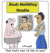Cartoon: Body Re-Building (small) by EASTERBY tagged health,and,fitness