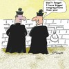 Cartoon: Congratulations Congregations (small) by EASTERBY tagged catholic,church,priests,toilets