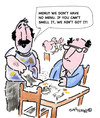 Cartoon: MENU??!! (small) by EASTERBY tagged restaraunts eatingout