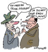 Cartoon: Nur einen Mund (small) by EASTERBY tagged alcohol drinkproblems