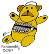 Cartoon: Teddy Explosive Bear (small) by EASTERBY tagged terror terrorists islam