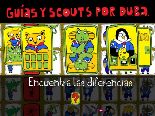 Cartoon: Scouting for Animal Rights (medium) by Munguia tagged scouts,animals,duba,wspa,munguia,art,humor,video,game