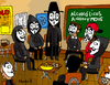 Cartoon: Alcoholics Anonymous (small) by Munguia tagged aa,meeting,anonymous,alcohol,drink