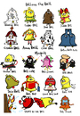Cartoon: Bell Bell Bell (small) by Munguia tagged bell,word,play,graham,annabell