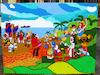 Cartoon: Coffee Time 2019 (small) by Munguia tagged aleardo,villa,alegory,of,coffe,and,banana,famous,paintings,parodies