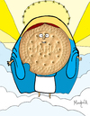 Cartoon: Galleta Maria (small) by Munguia tagged cookie,galleta,maria,heaven,munguia,costa,rica