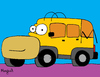 Cartoon: Hommer (small) by Munguia tagged hummer,homer,simpson,car,automovil,munguia,calcamunguia,parody,tv,costa,rica