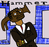 Cartoon: MC Hammer (small) by Munguia tagged mc,hammer,time,please,dont,hurt,em,rap,hip,hop,90s,cover,album,parody,parodies
