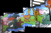 Cartoon: Mural for Fight Childhood Cancer (small) by Munguia tagged cancer,childhood,mural,painting,munguia