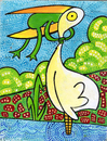 Cartoon: Never Give UP - cover (small) by Munguia tagged give,up,frog,animals