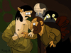 Cartoon: No title yet (small) by Munguia tagged the,incredulity,of,saint,thomas,caravaggio,parody,trick,finger