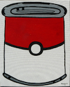 Cartoon: Pokecan (small) by Munguia tagged pokeball,pokemon,andy,warhol,campbells,tomato,soup,can,famous,paintings,parodies,spoof,cartoon,version