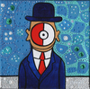 Cartoon: Son of pokemon (small) by Munguia tagged magritte,son,of,man,apple,pokemon,go,pokeball