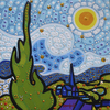 Cartoon: The Sunny day (small) by Munguia tagged vincent,van,gogh,parody,starry,night,noche,estrellada,pintura,famous,painting,parodies,version,spoof