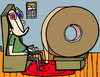 Cartoon: video tape (small) by Munguia tagged 3d,film,videotape,tape,video,movies,home,theater