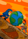 Cartoon: Works (small) by Munguia tagged sisifo,works,jobs,world,rich,and,poor,sisyphus