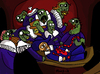 Cartoon: Zombie Lesson With Dr Food (small) by Munguia tagged anatomy,lesson,with,dr,tulp,class,medical,rembrandt,zombie,horror,paintings,parodies,famous,munguia